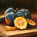 Acorn Squash Print by Robert Papp