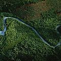 Aerial View Of The El Almandro Tinted by Stephen Alvarez