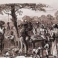 African American Freedmen Receiving by Everett