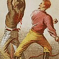 African American Slave Being Whipped by Everett