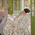 Afternoon - Yellow Room Print by Frederick Carl Frieseke
