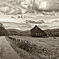 Ah...west Virginia Sepia by Steve Harrington