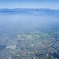 Air Pollution Over Los Angeles by Detlev Van Ravenswaay