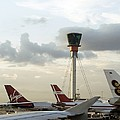 Air Traffic Control Tower, Uk by Carlos Dominguez