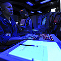 Air Traffic Controller Stands Watch by Stocktrek Images