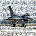 Airforce F-4866 Mosaic  by Darleen Stry