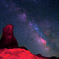 Alabama Hills Tower And Milky Way by Bill Wight CA