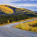 Alaska Highway Near Beaver Creek by Yves Marcoux