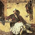 Albanian Sentinel Resting by Paul Jovanovic