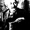 Albert Einstein 1931 Litho