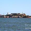 Alcatraz Island In San Francisco California . West Side . 7d14007 by Wingsdomain Art and Photography