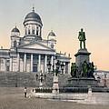 Alexander II Memorial At Senate Square In Helsinki Finland by International  Images