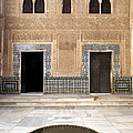 Alhambra Inner Courtyard by Jane Rix