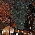 All Night Star Trails by Larry Landolfi
