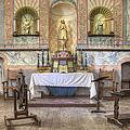 Altar At Mission La Purisima State by Douglas Orton