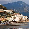Amalfi Print by Pat Cannon