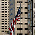 American Flag In The City by Blink Images