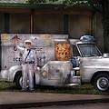 Americana -  We sell Ice Cream Print by Mike Savad