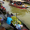 Ampawa Floating Market by Adrian Evans