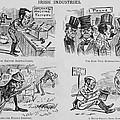 An Anti-irish Cartoon Entitled Irish by Everett
