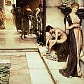 An Apodyterium Print by Sir Lawrence Alma-Tadema