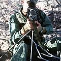 An Army Ranger Sets Up An Anpaq-1 Laser by Stocktrek Images