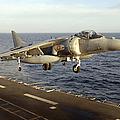 An Av-8b Harrier II Prepares To Land by Stocktrek Images