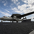An E-2c Hawkeye Aircraft Prepares by Stocktrek Images
