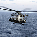 An Mh-53e Sea Dragon In Flight by Stocktrek Images