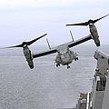 An Mv-22b Osprey Takes by Stocktrek Images