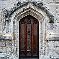 Ancient Door Print by Douglas Barnett