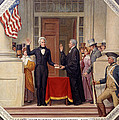 Andrew Jackson At The First Capitol Inauguration - C 1829 by International  Images