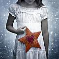 angel with a star Poster by Joana Kruse