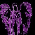 Angels Of Light Purple by Alma Yamazaki