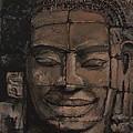 Angkor Smile - Angkor Wat Painting by Khairzul MG