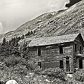 Animas Forks In Blackandwhite by Melany Sarafis