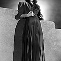 Ann Sheridan Wearing Pleated Evening by Everett
