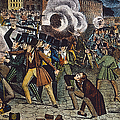 Anti-catholic Mob, 1844 by Granger