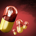 Antidepressant Medication by Victor Habbick Visions