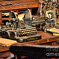 Antique Typewriter Print by Paul Ward