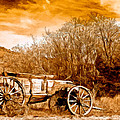 Antique Wagon by Bob and Nadine Johnston