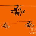 Apache Dawn Print by Pixel  Chimp
