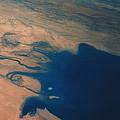 Apollo 7 Photograph Of Kuwait, Iraq & Iran Print by Nasa
