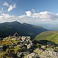 Appalachian Trail  - White Mountains New Hampshire Print by Erin Paul Donovan