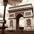 Arc De Triomphe by Kathy Yates