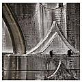 Architectural Detail Triptych by Carol Leigh