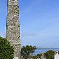 Ardmore Round Tower - Ireland by Mike McGlothlen