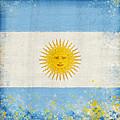Argentina Flag by Setsiri Silapasuwanchai