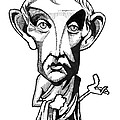 Aristotle, Caricature by Gary Brown