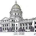 Arkansas State Capitol by Frederic Kohli